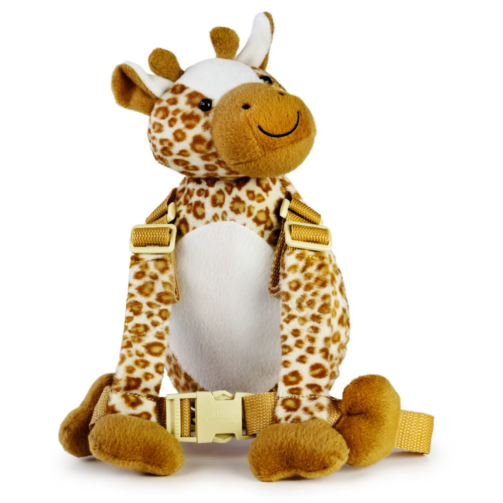 Goldbug Harness Buddy Giraffe - click here for full details.