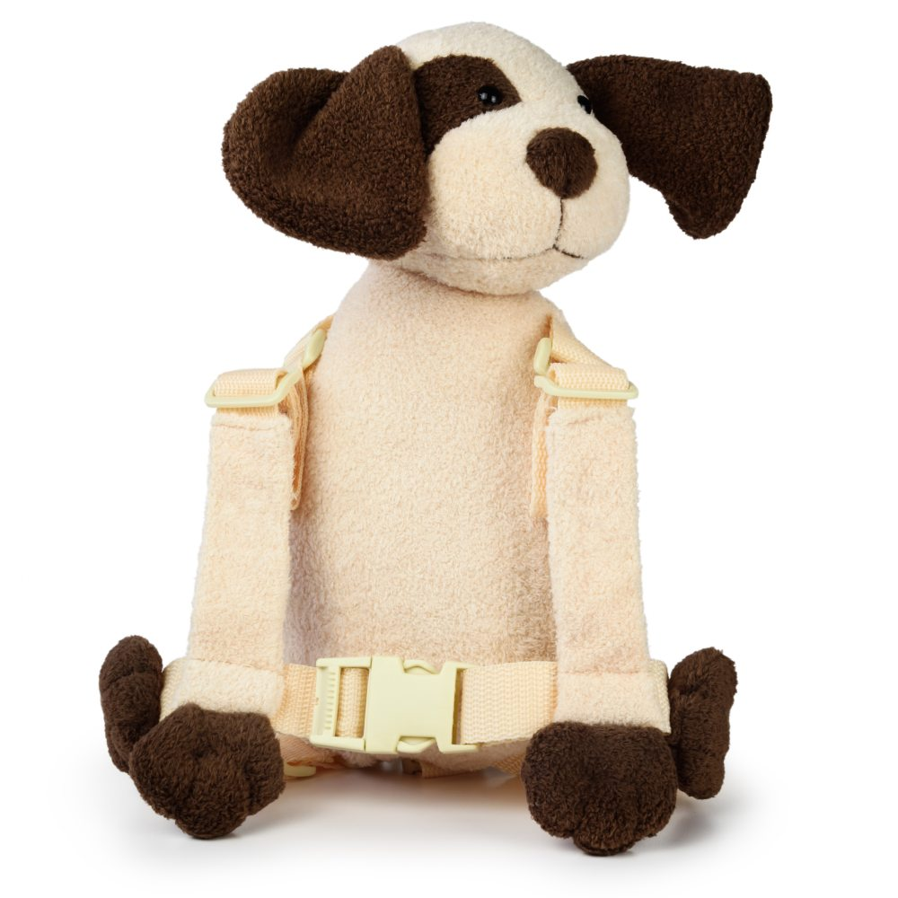 Goldbug Harness Buddy Ivory Dog - click here for full details.